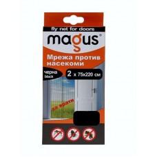 МРЕЖА-НАСЕКОМИ ВРАТА Magus 2x75x220 черна @