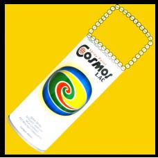 СПРЕЙ-COSMOS 400 ml RAL 1023 Canary ЖЪЛТ