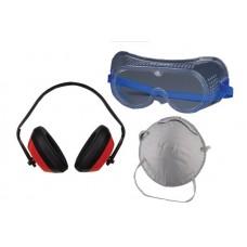 Комплект-маска,очила и антифони TS