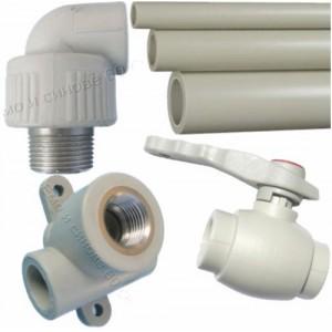 PPR и PVC ВиК части